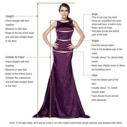 Elegant Prom Dress, Long Prom Dress..