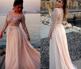 Long Chiffon Evening..
