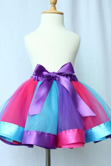 Colorful Skirts Girl Clothing Summer Color Girls Clothes Kids Tutu Skirt Princess Party Petticoat Pettiskirt WholeSale